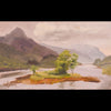 plein air oil painting by Raymond Helgeson, Glencoe, Scotland