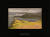 plein air oil painting by Raymond Helgeson, Isle of Skye, Scotland, black frame