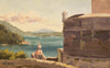 plein air oil painting by Raymond Helgeson, Dubrovnik, Croatia