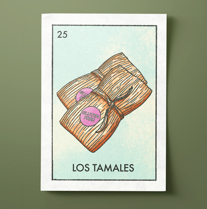 Los Tamales Christmas Card