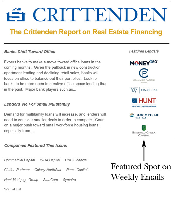 Featured Lender in Finance Directory