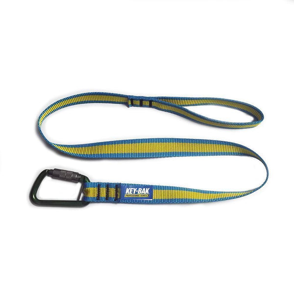 ToolMate 15 lb. Tool Tether with a Carabiner End and Loop Strap End (ANSI/ISEA 121-2018 Certified)