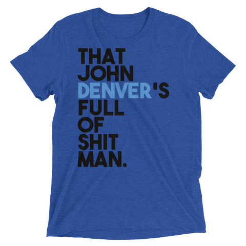 John Denver Dumb And Dumber Shirt