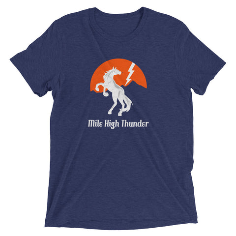 Denver Broncos Football Mile High Thunder Shirt