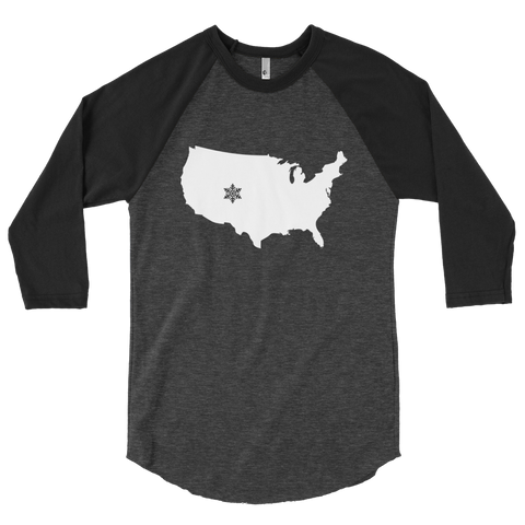 United States Snow Colorado Raglan Shirt