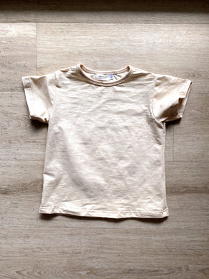 Cream Everyday Organic Tee