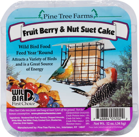 Suet Fruit Berry & Nut