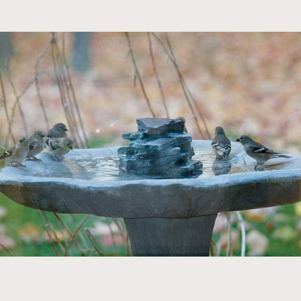 Waterfall Rock For Bird Bath