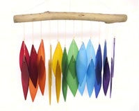 Wind Chime Glass Rainbow