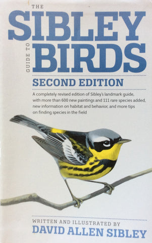 Sibley Guide To Birds 2nd Edition