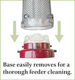 Nyjer Mesh Feeder Quick-Clean