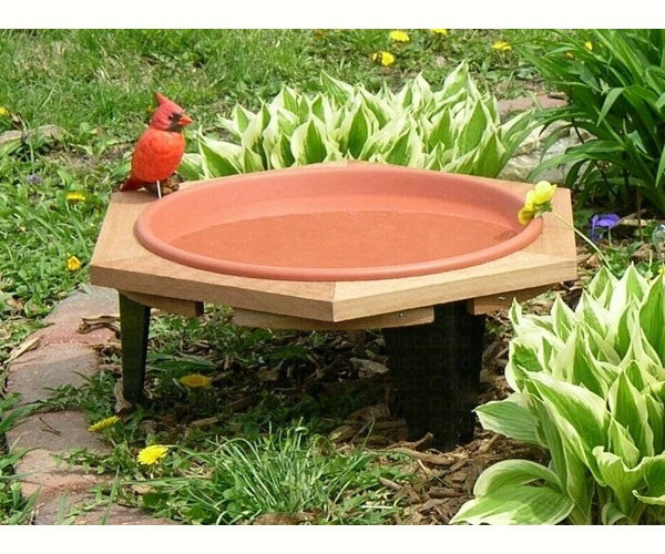 Bird Bath Classic 17 With Post or Low