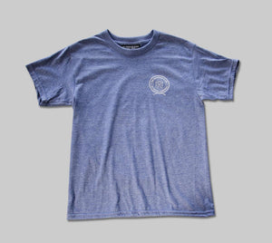 Kids Diver Tee Steel Blue (S,M,XL)