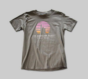 Kids Sunset Tee Slate Grey (XL)