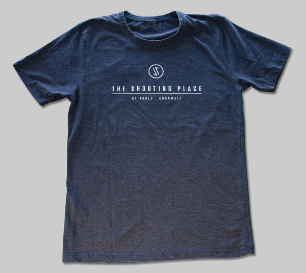 Logo Tee French Navy