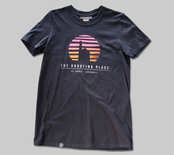 Sunset Tee Black (S)