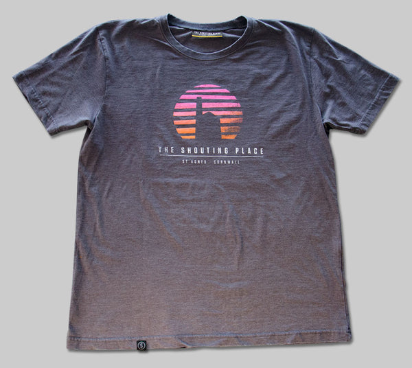Sunset Tee Steel Grey
