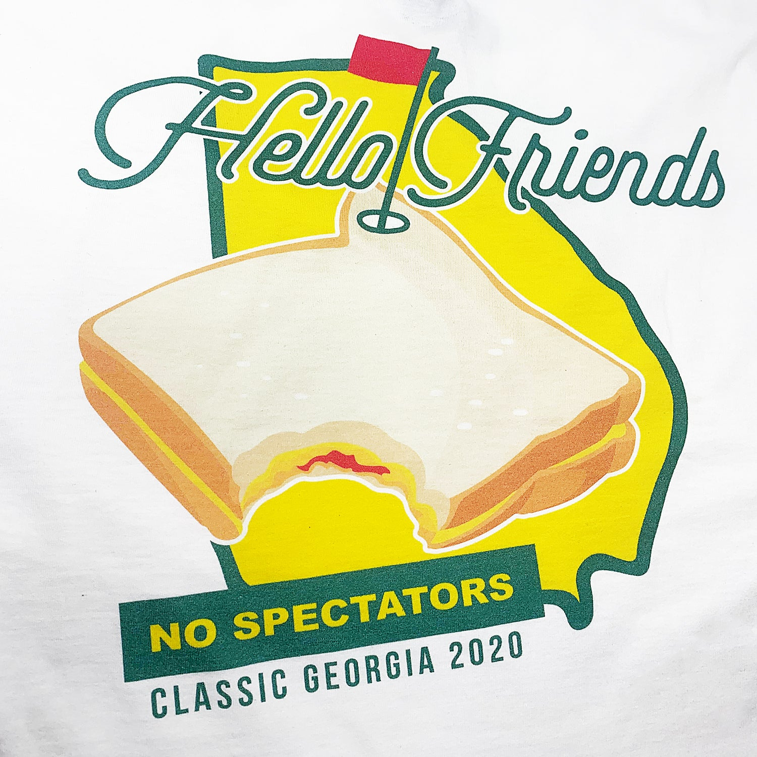 Hello Friends Pocket-Tee