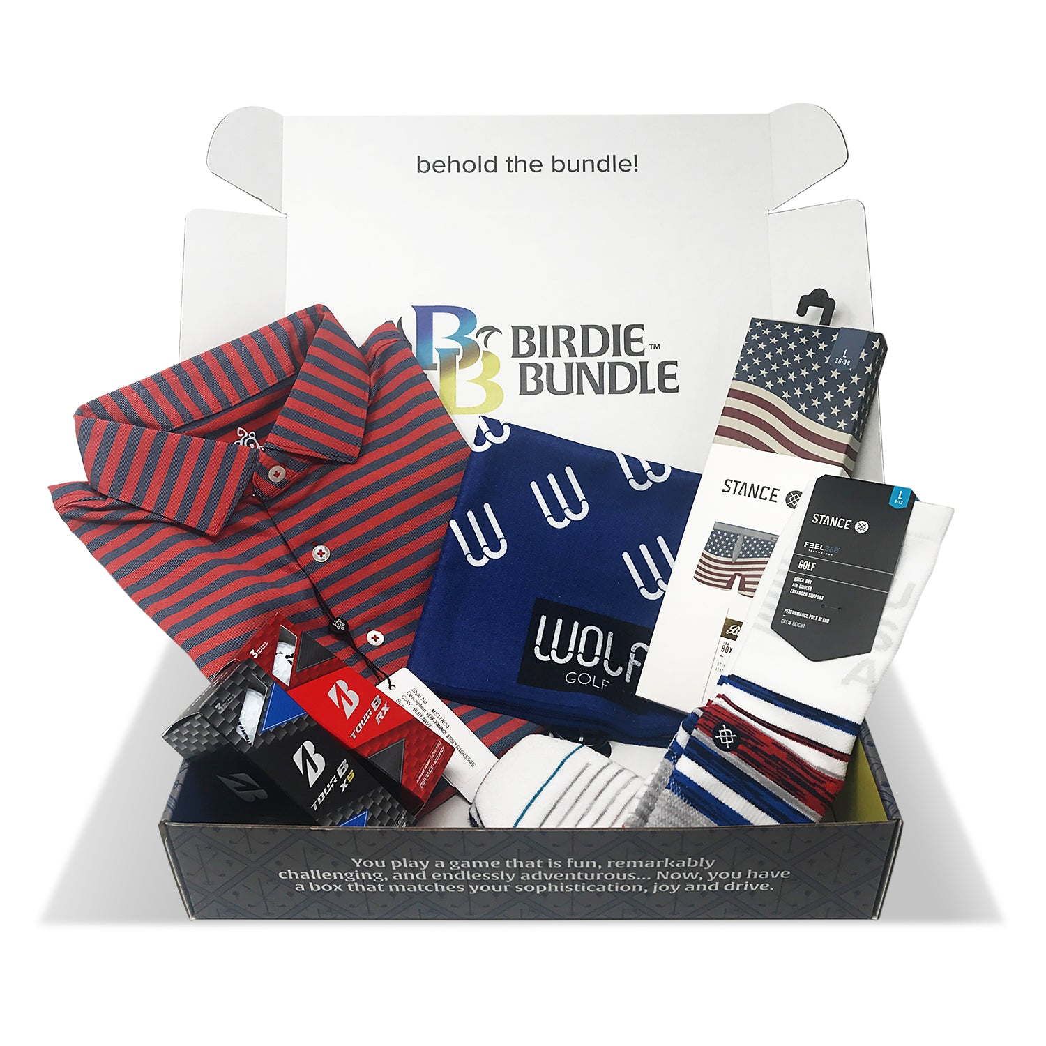 Premium Birdie Bundle Golf Subscription Box