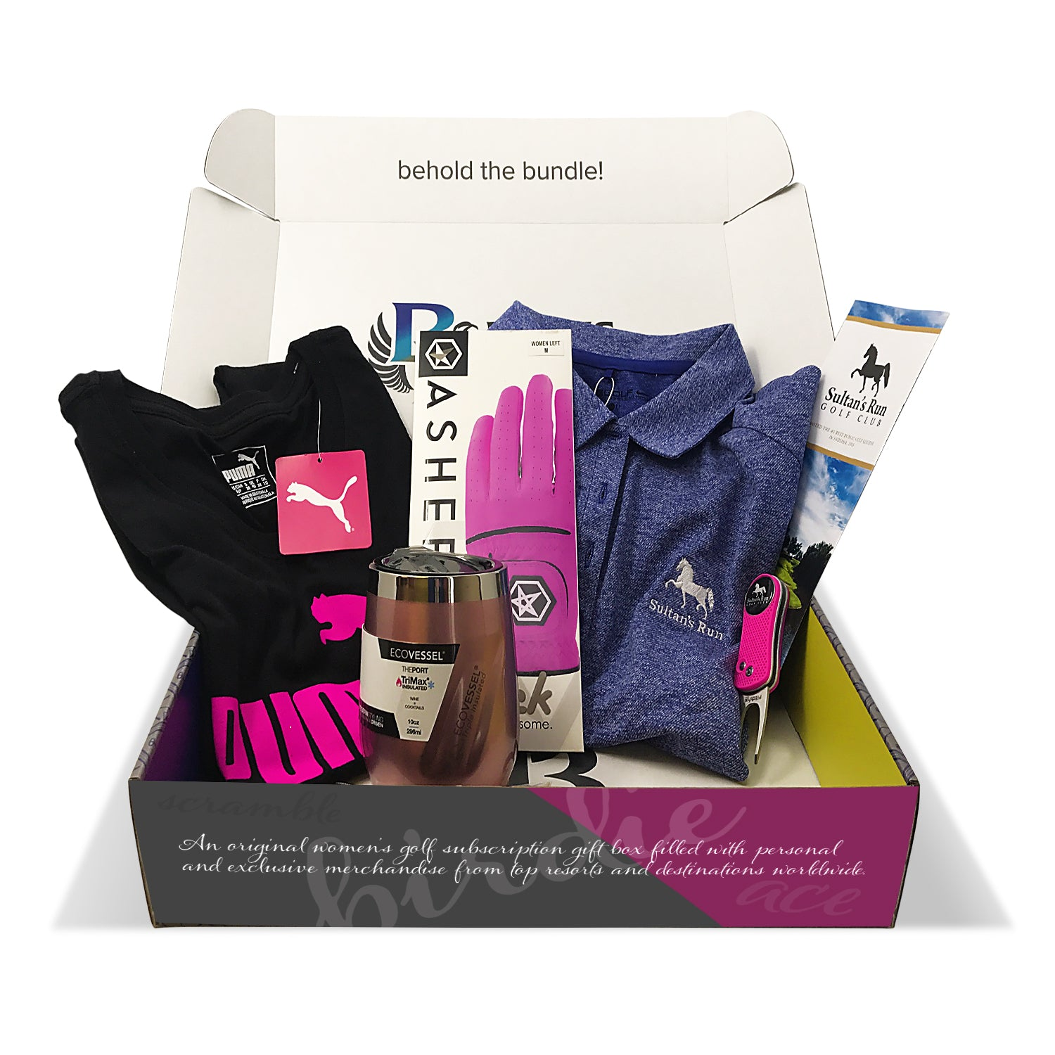 Women's Combo Birdie Bundle Subscription