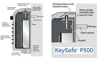 Keysafe P500 with alarm sensor