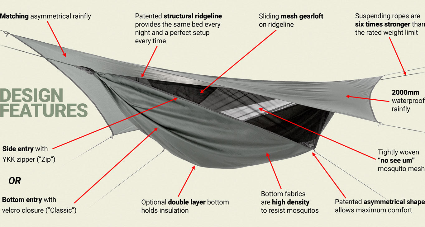 hammock design features