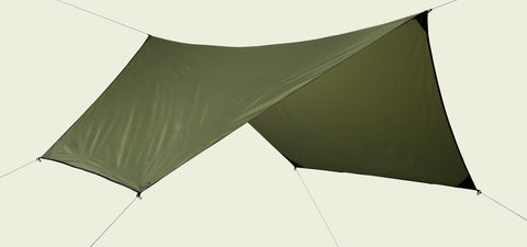 Olive Drab Hex Rainfly 70D Polyester