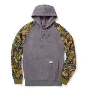 Two Toned Camo Gray Hoodie