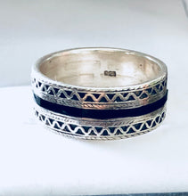 Vintage Men's Classy Sterling Silver Ring