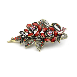 New Vintage Rose Hair Clip