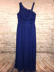 NEW - ROYAL BLUE LONG GOWN