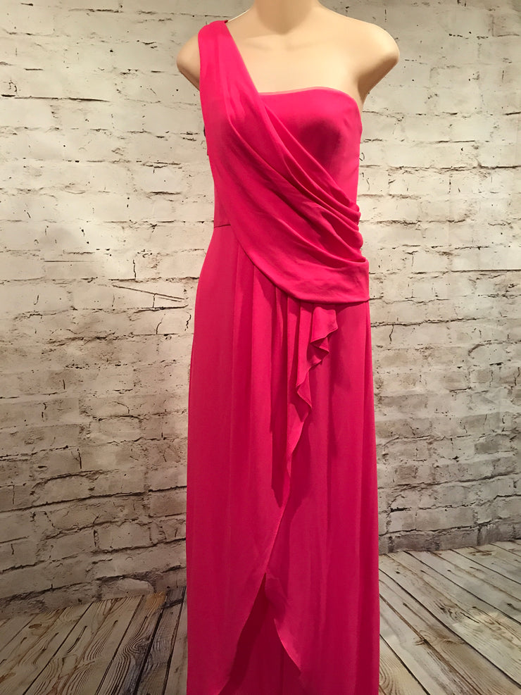 PINK LONG EVENING GOWN
