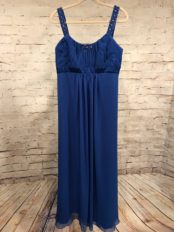 NEW - ROYAL BLUE LONG DRESS