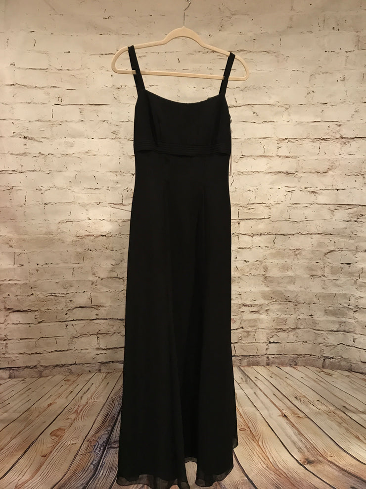 NEW - BLACK LONG EVENING GOWN