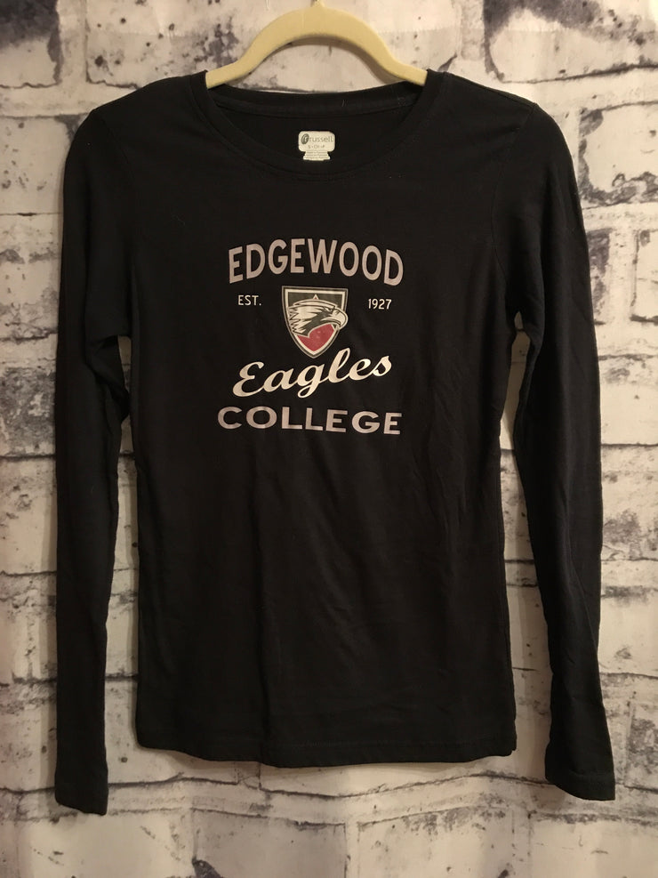 BLACK EDGEWOOD COLLEGE SHIRT
