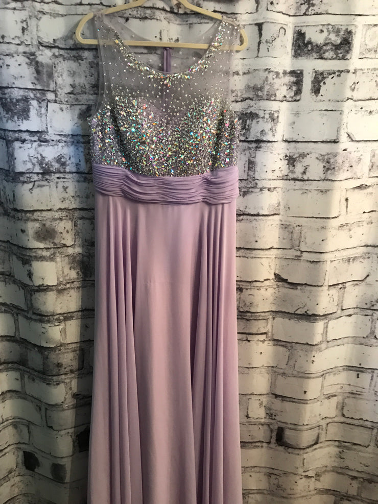 LAVENDER LONG GOWN (NEW)