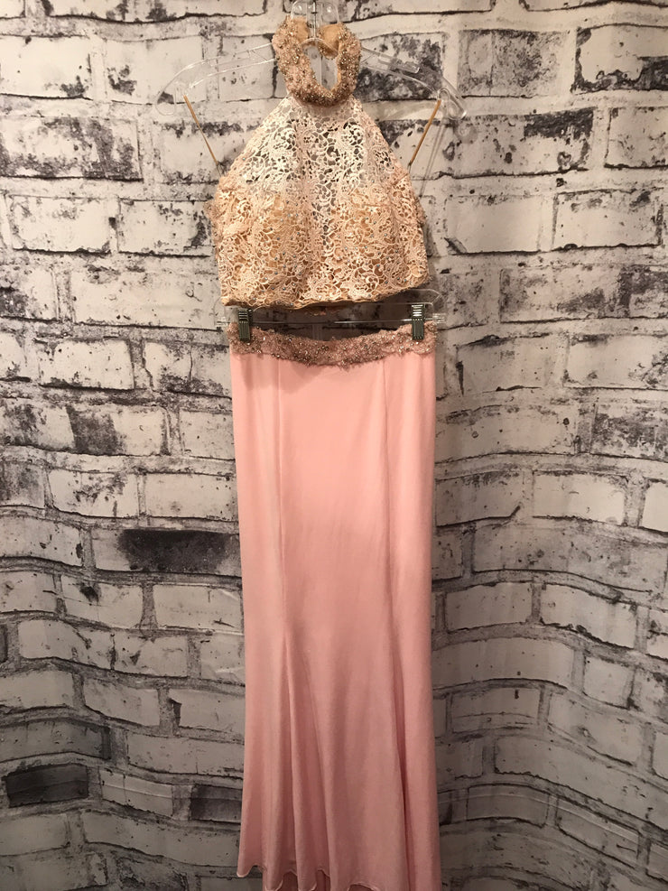 PINK 2 PC. LONG EVENING GOWN