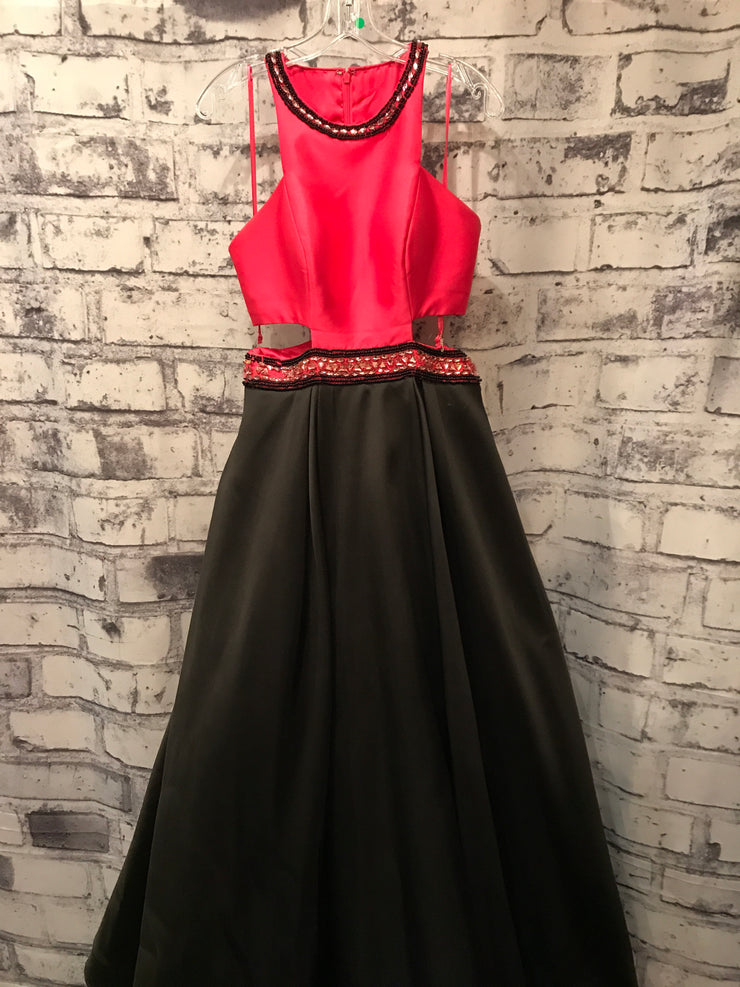 PINK/BLACK TAFFETA PRINCESS