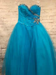 BLUE PRINCESS GOWN