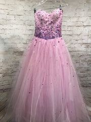 PURPLE PRINCESS GOWN