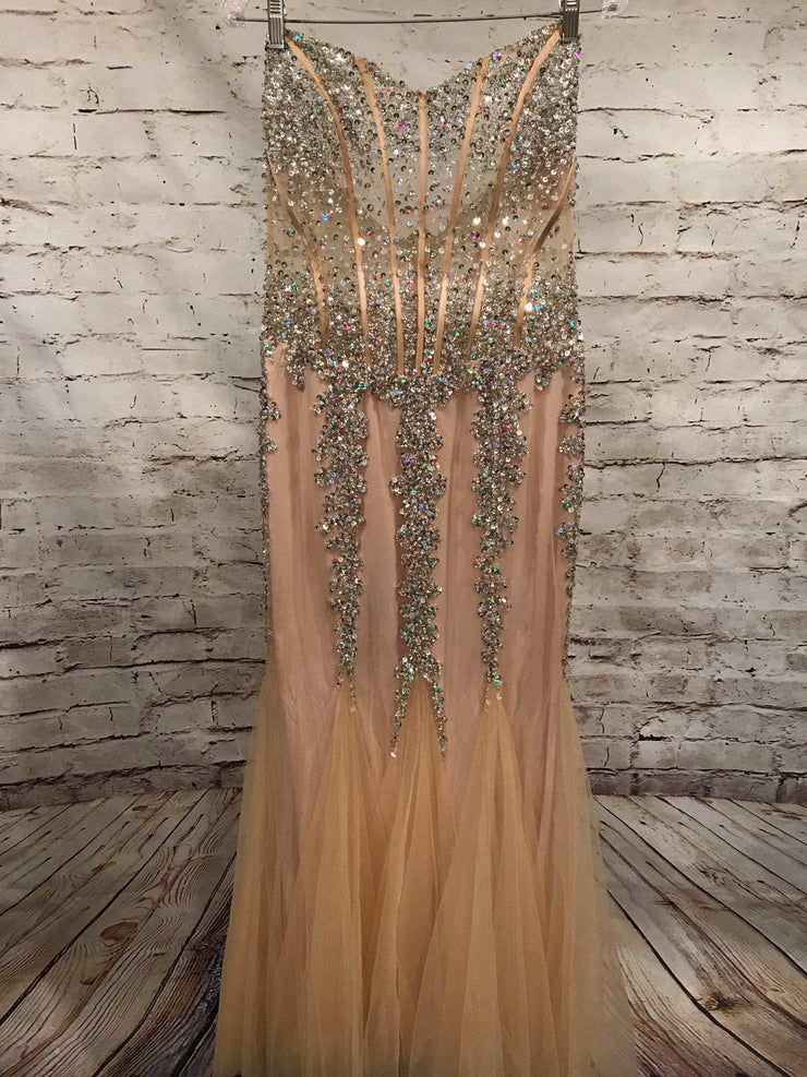 GOLD MERMAID GOWN