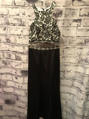 * * BLACK/WHITE 2 PC. MERMAID
