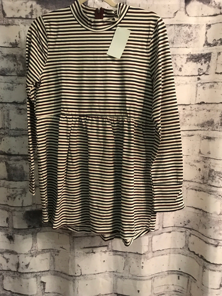 NEW - STRIPED LONG SLEEVE TOP