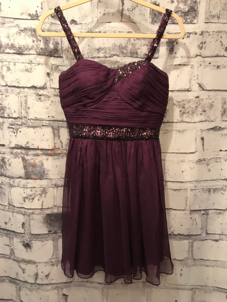 PURPLE SHORT DRESS