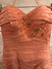 PEACH EVENING GOWN (NEW)