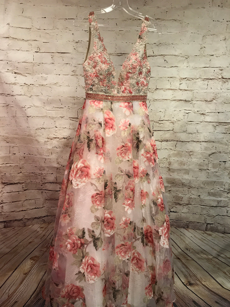 FLORAL PRINCESS GOWN