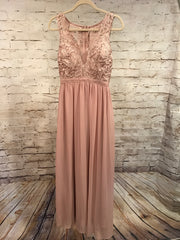 NEW - BLUSH LONG EVENING GOWN