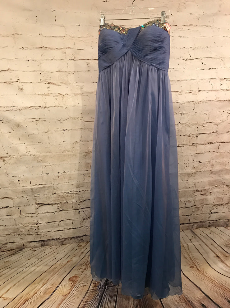 BLUE EVENING GOWN (NEW)