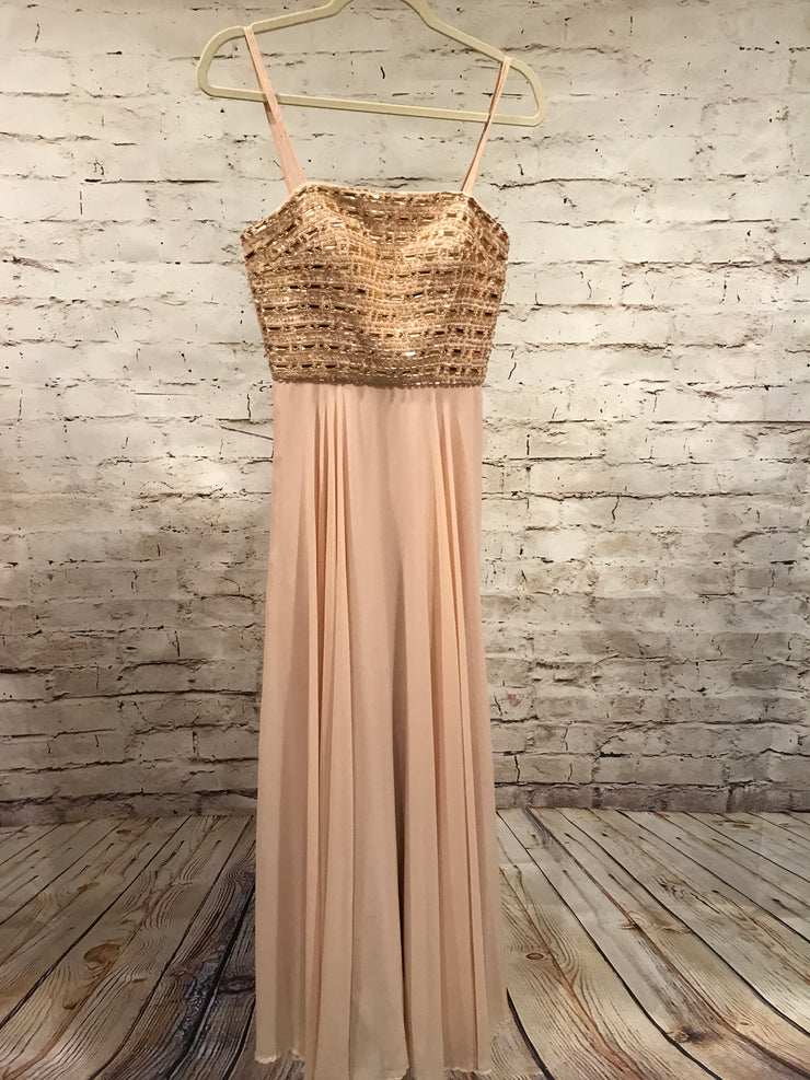 TAN LONG EVENING GOWN