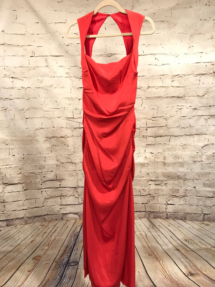 CORAL EVENING GOWN $700